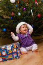 Baby Christmas tree Stock Image