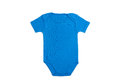 Baby clothes argentina short sleeve in argentinian colors on white background Stock Photography