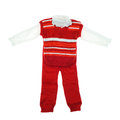 Baby clothes set Stock Image