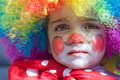 Baby clown Stock Photos