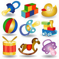 Baby collection icon Royalty Free Stock Photos