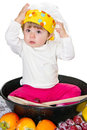 Baby cook Stock Photography