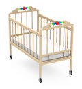 Baby cot Royalty Free Stock Images