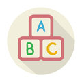 Baby Cubes with letters