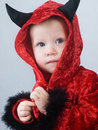 Baby devil Stock Photography