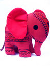 Baby Elephant Toy Stock Photo
