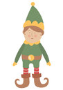 Baby elf Stock Photography