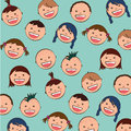 Baby faces Royalty Free Stock Photo