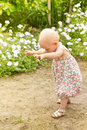 Baby first step Royalty Free Stock Photo