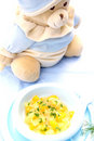 Baby food Stock Photos