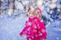 Baby girl's portrait Royalty Free Stock Photo