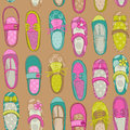 Baby girl shoes background for design or scrapbook in Royalty Free Stock Images