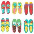 ฺBaby girl shoes Royalty Free Stock Photo