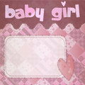 Baby girl shower newborn Royalty Free Stock Images