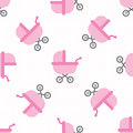 Baby girl shower seamless