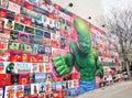 Baby Hulk Mural