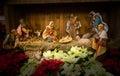 Baby Jesus Christmas Nativity Scene Royalty Free Stock Photo