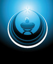 Baby Jesus icon Royalty Free Stock Photo