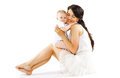 Baby and mom Royalty Free Stock Photo