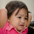 Baby moody Royalty Free Stock Photo