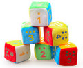Baby Number Blocks Stock Photo