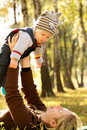 Baby Outdoors Royalty Free Stock Images