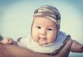 Baby portrait closeup of an adorable Royalty Free Stock Photos