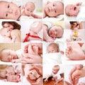 Dieťa a tehotenstva koláž