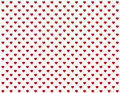 Baby Red Hearts Seamless Background Royalty Free Stock Image
