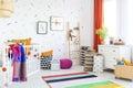 Baby room decor Royalty Free Stock Photo