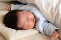 Baby's sleeping face Stock Photography
