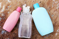 Baby shampoo bottle Royalty Free Stock Photo