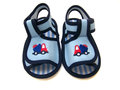 Baby shoe pair of for infants Stock Image