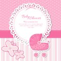 Baby shower announcement this is file of eps format Stock Images