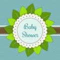 Baby Shower Invitation Card - Boy
