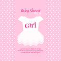 Baby Shower Invitation Template Royalty Free Stock Photography