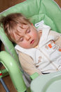 Baby sleep Stock Image