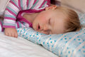 Baby sleeping Stock Photo