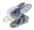Baby soft toy. cute rabbit soft toy Stock Photos