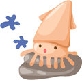 Baby squid Royalty Free Stock Image