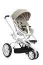 Baby stroller isolated on white Royalty Free Stock Photo
