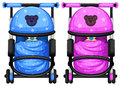 Baby strollers Royalty Free Stock Photo