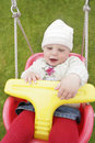 Baby swings Royalty Free Stock Photos