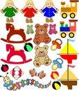 Baby Toys Royalty Free Stock Photo