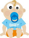 Baby (vector) Stock Image