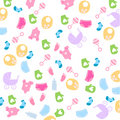 Baby wallpaper Royalty Free Stock Photos