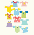 Baby wardrobe Royalty Free Stock Images