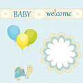 Baby welcome Stock Images