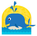 Baby Whale Royalty Free Stock Photo