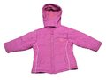 Baby windbreaker pink color jacket close up Royalty Free Stock Image